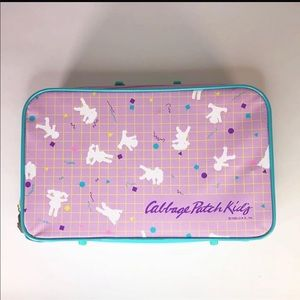 """1986 Cabbage Patch Suitcase  16"""" x 10"""" x 4"""""""